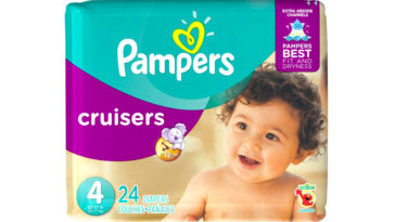 Echantillon couche pampers cruisers